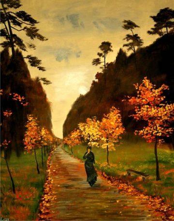 Сочинение «Осенний день.Сокольники» Левитана