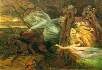 Сочинение Эмоциональное построение баллады В. А. Жуковского «Лесной царь