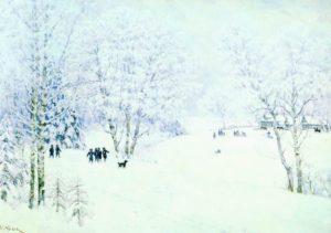 sochinenie-YUon-«Russkaya-zima»