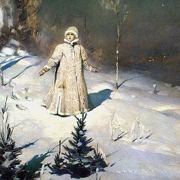 sochinenie-Vasnecov-«Snegurochka»