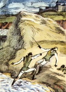 Сочинение на тему «Дуэль Гринева и Швабрина»